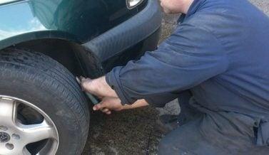 Toyota Avensis Puncture Repair